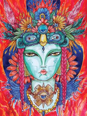 Mexican goddess