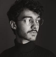 Matt Glasses Headshot Black and White.jp