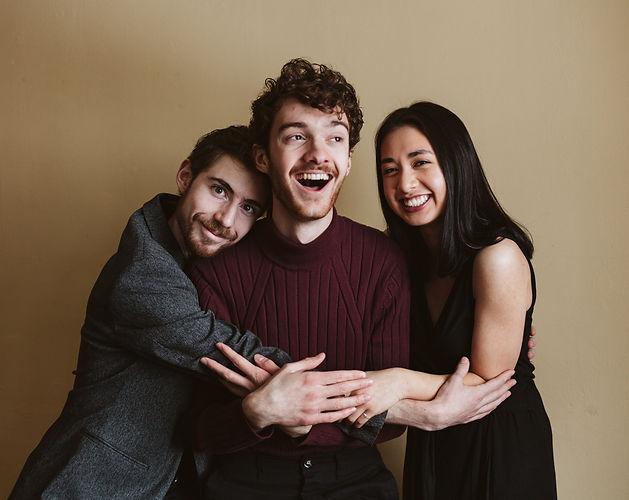 Laughing Trio Color (Matt, Luke, Arianna