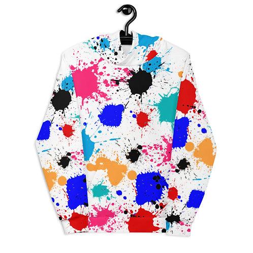 4. Unisex Paint Splash Hoodie
