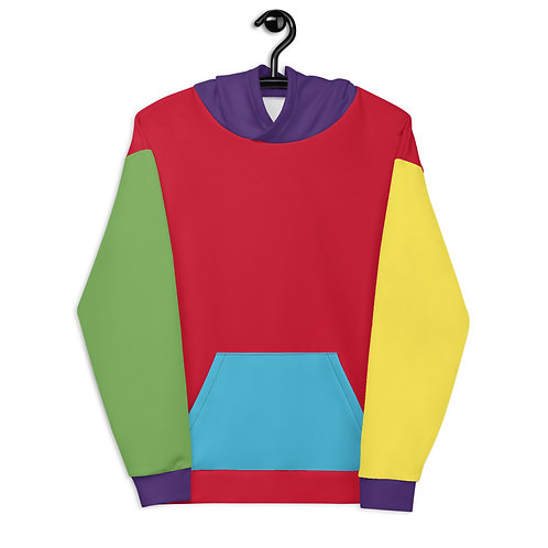 1. Colourful Abstract Hoodie