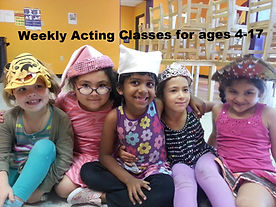 Weekly Acting Classes, Princesses