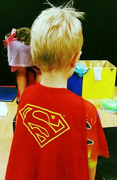 Birthday Parties, Superman, Super Heros