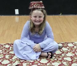 Callie as Carpet Girl - Aladdin Jr.
