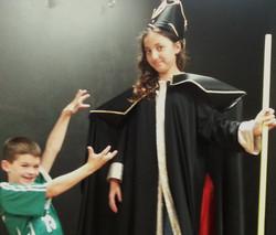 Jafar and Iago from Aladdin Jr.!