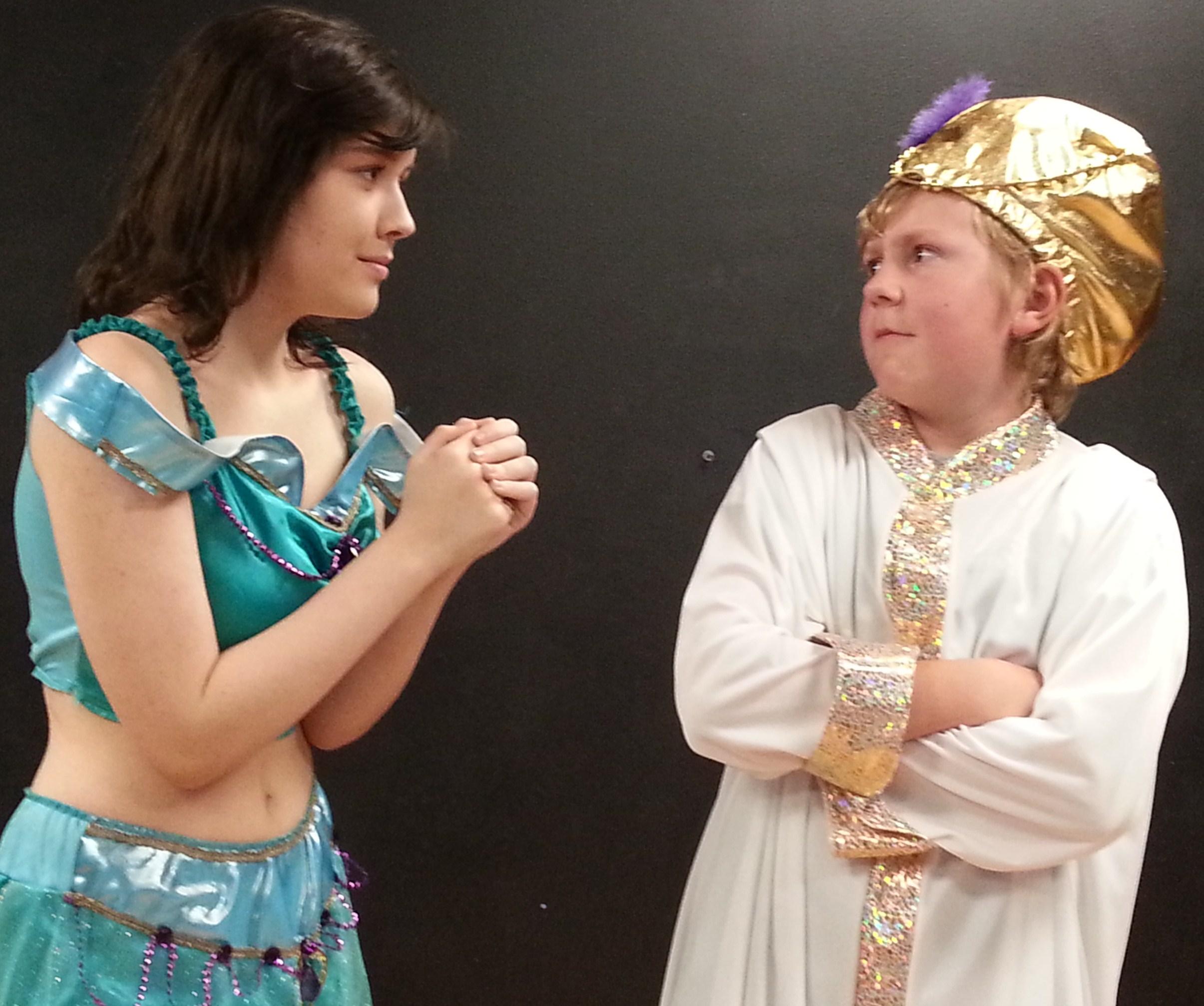 Jasmine and Sultan - Aladdin Jr.