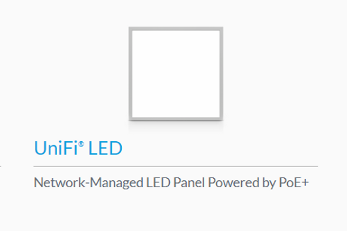 UniFi POE lighting