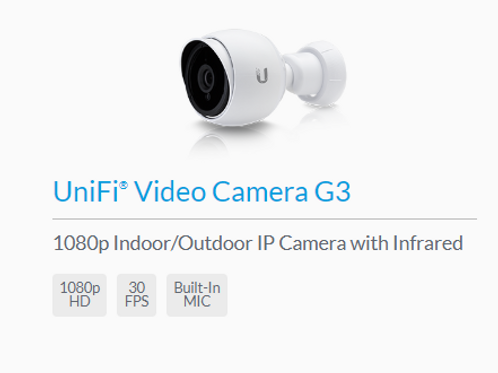 Unifi Indoor/Outdoor IP Camera