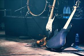 Zwei E-Gitarren