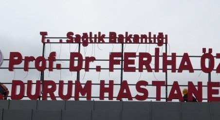 PROF. DR. FERİHA ÖZ HASTANESİ HİZMETE AÇILDI