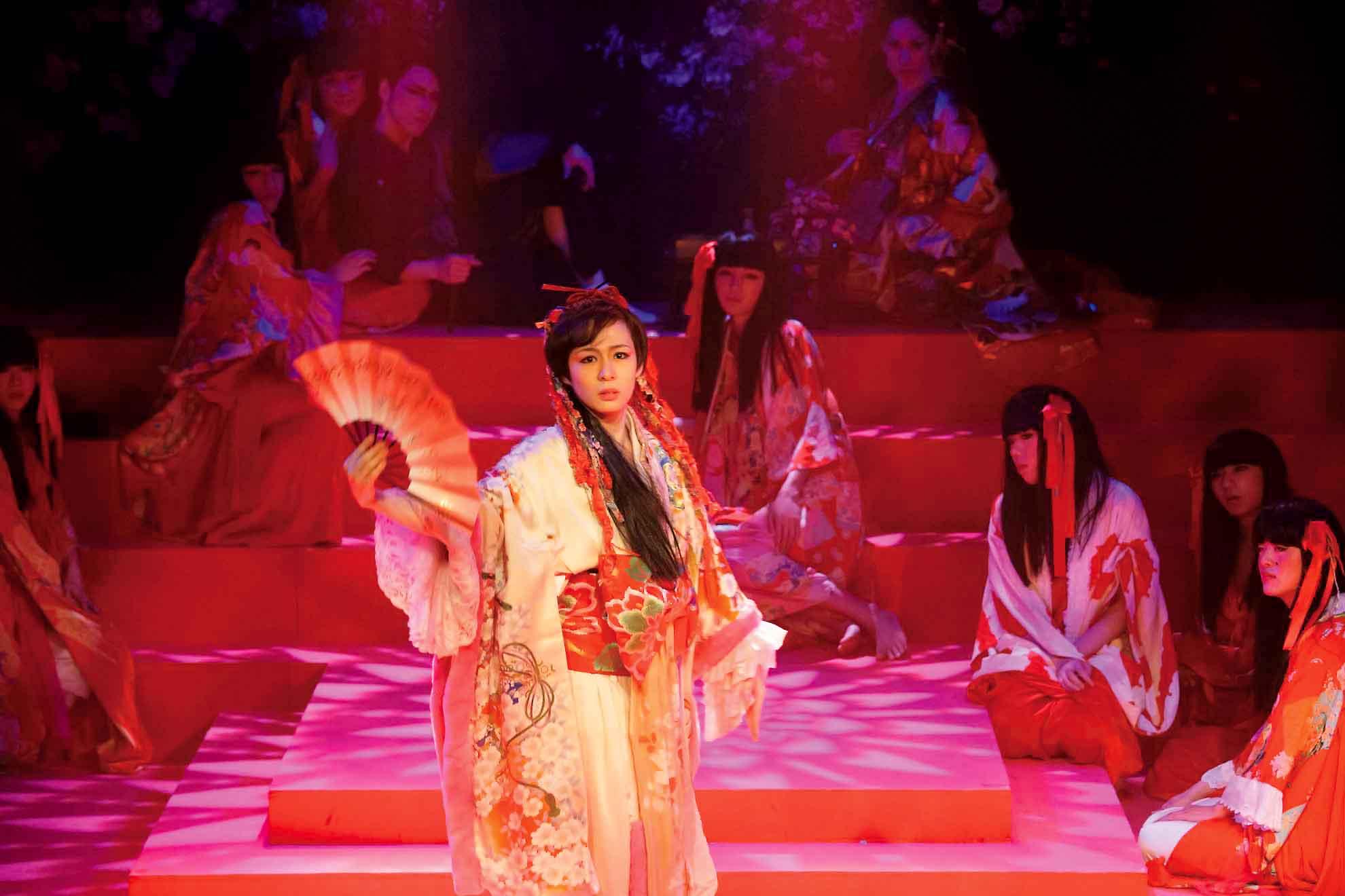 舞台新演出版「男おいらん」 蓮組
