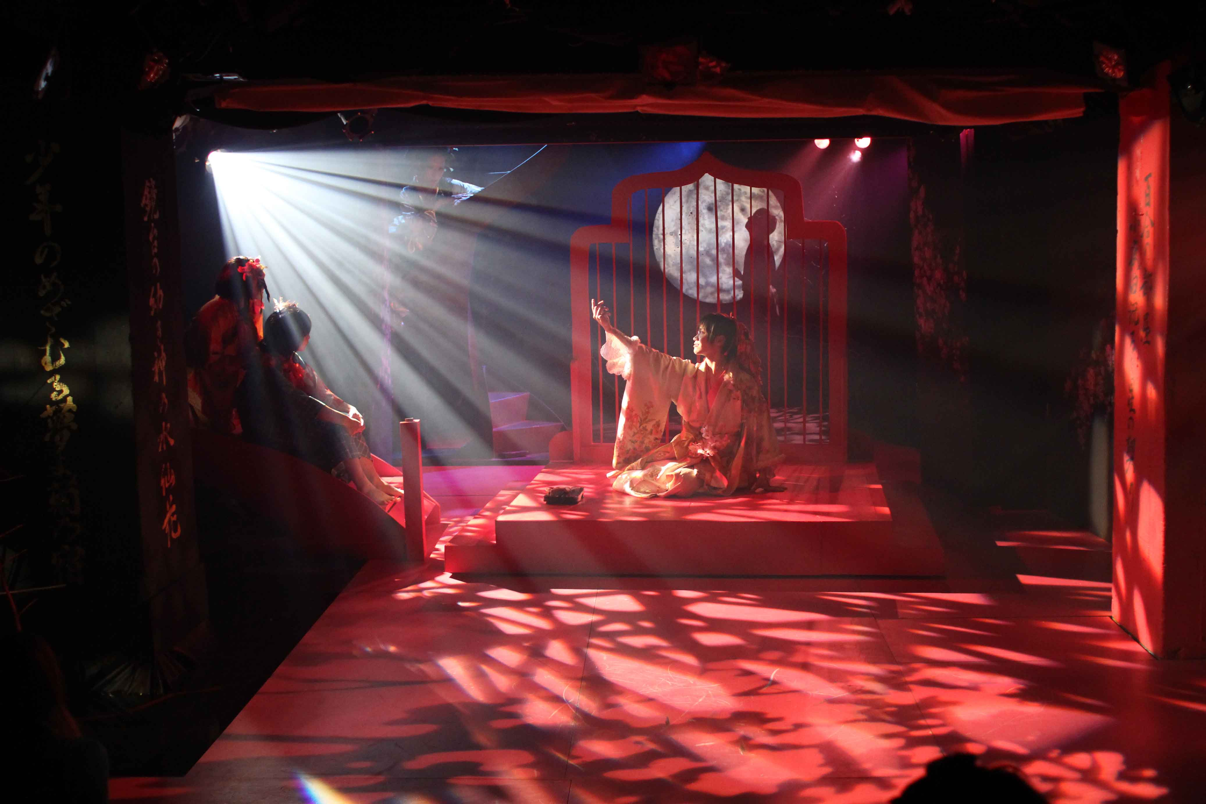 舞台「男おいらん」初演