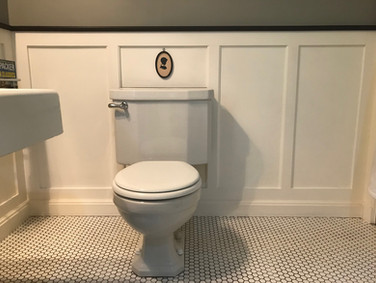 Period Bathroom - Custom Wainscot