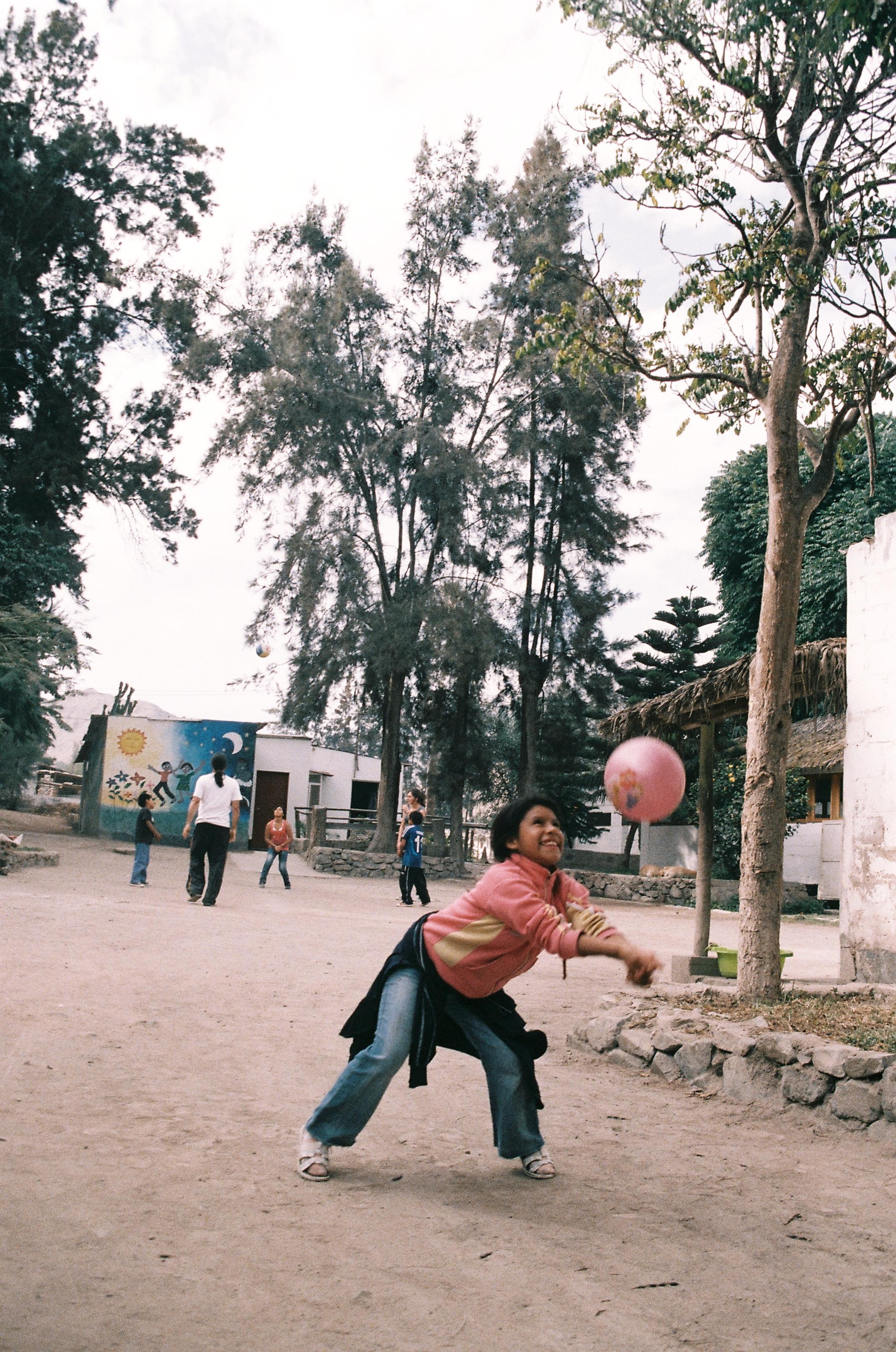 Ball from the slum