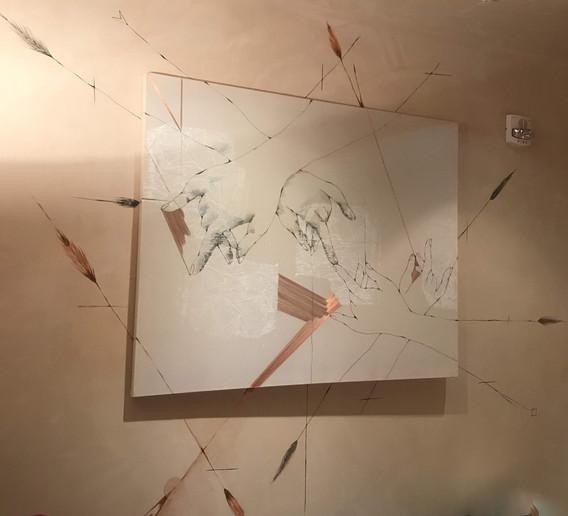bringing together... wall install