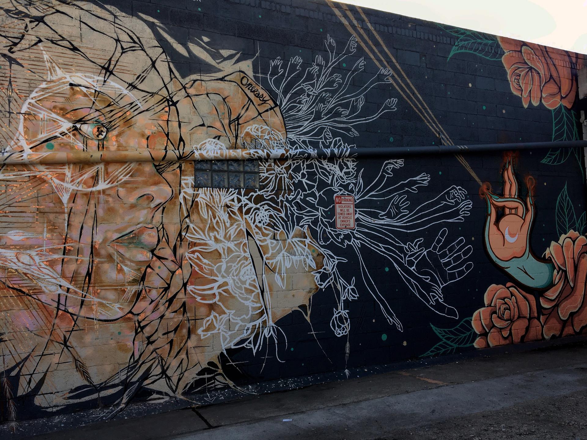 Modern Nomad Mural Collaboration