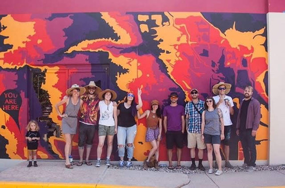 Fort Collins Mural Project 2019 xoxo