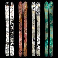Custom Art Graphics Wagner Skis