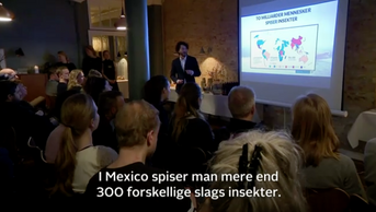 Jakob Rukov Foredrag om spiselige insekte