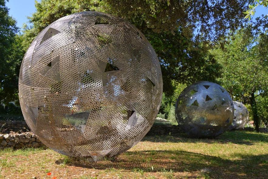 Visite art contemporain aux Tuileries