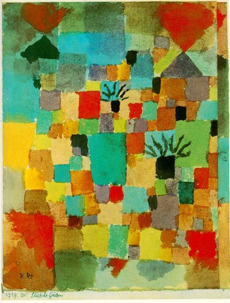 """Visio-conférence """"Paul Klee dans les jardins du monde"""" Samedi 8 mai à 11h"""