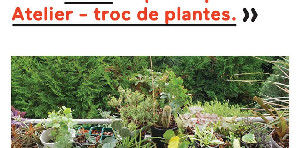 Atelier-troc de plantes