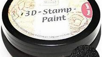 Viva 3 D stamp paint Black