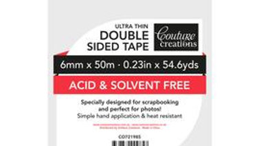 Couture Creations Double Sided tape. 6mm x50m