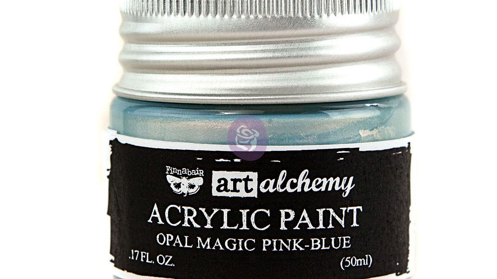 Art Alchemy- Acrylic Paint Opal Blue - Pink  (50 ml)