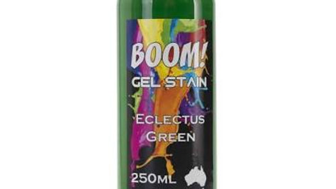 Boom Gel  Stain - Eclectus Green