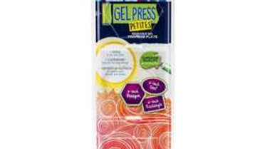 Gel Press Gel Plate Petite circle, triangle and square