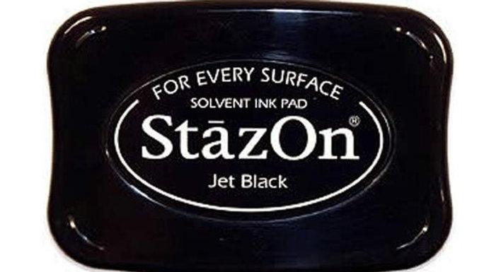 StazOn  Solvent Ink pad   Jet Black