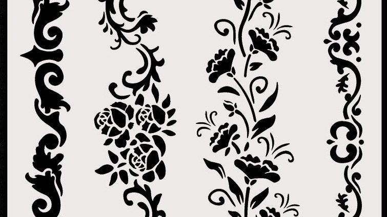 stamperia  Stencil vines