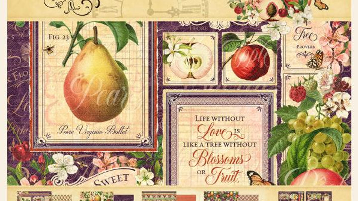Graphic 45 Fruit and Flora