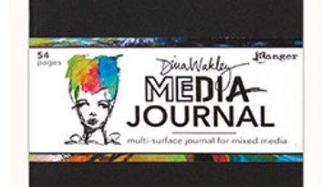 Dina Wakley Media Journal 8x10 - Black