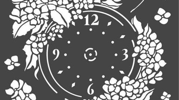 Stamperia  Clock face floral