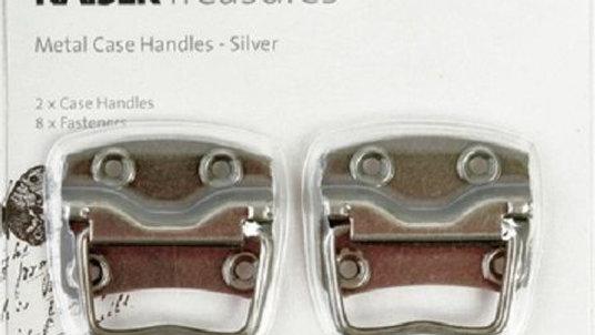 Kaisercraft Metal Case Handles - Silver