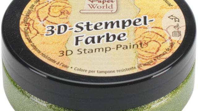 Viva 3D Stamp-paint  Grass Green