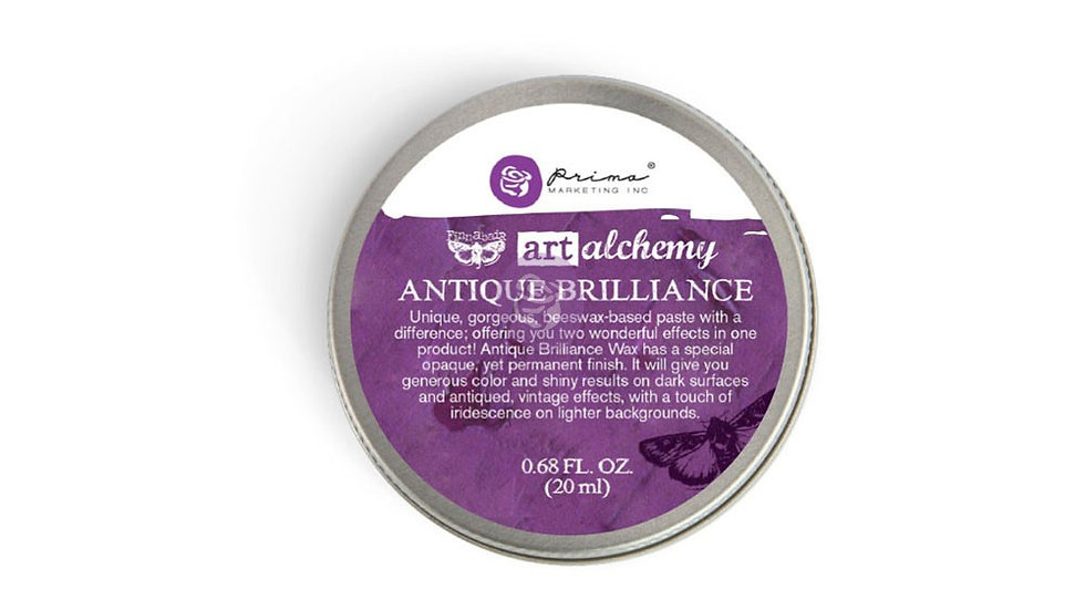 Antique Brilliance Wax Amethyst Magic