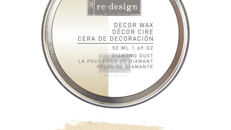 Re.Design Decor Wax 5.0ML 1.69OZ - Diamond Dust
