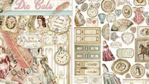 Stamperia   Princesll collection die cuts  45 pcs