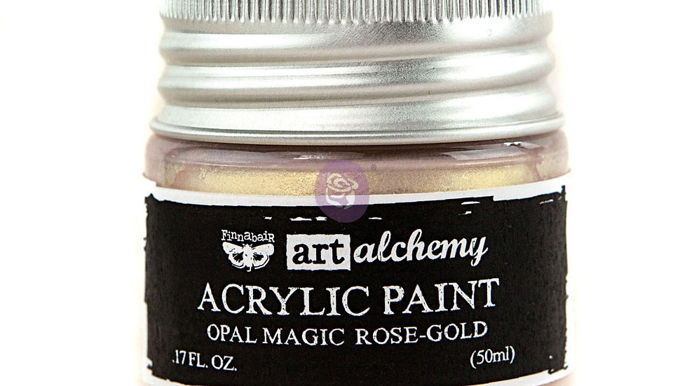 Art Alchemy- Acrylic Paint Opal    Rose -Gold  (50 ml)