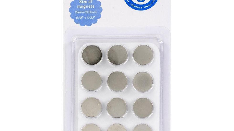 Large Craft Magnets 12pcs