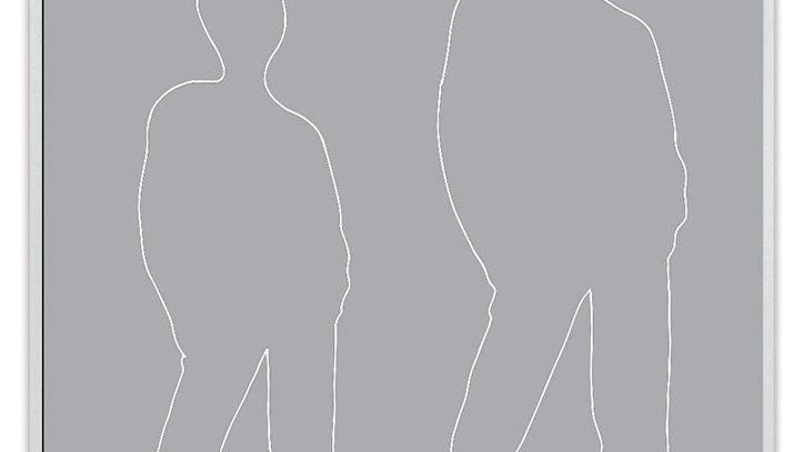"""Dylusions Stencil - Tom 9x12"""""""