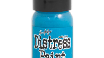 Distress Paint Mermaid Lagoon Flip top