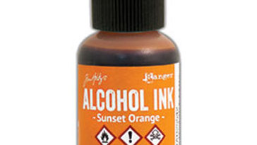 Alcohol Ink - Sunset Orange