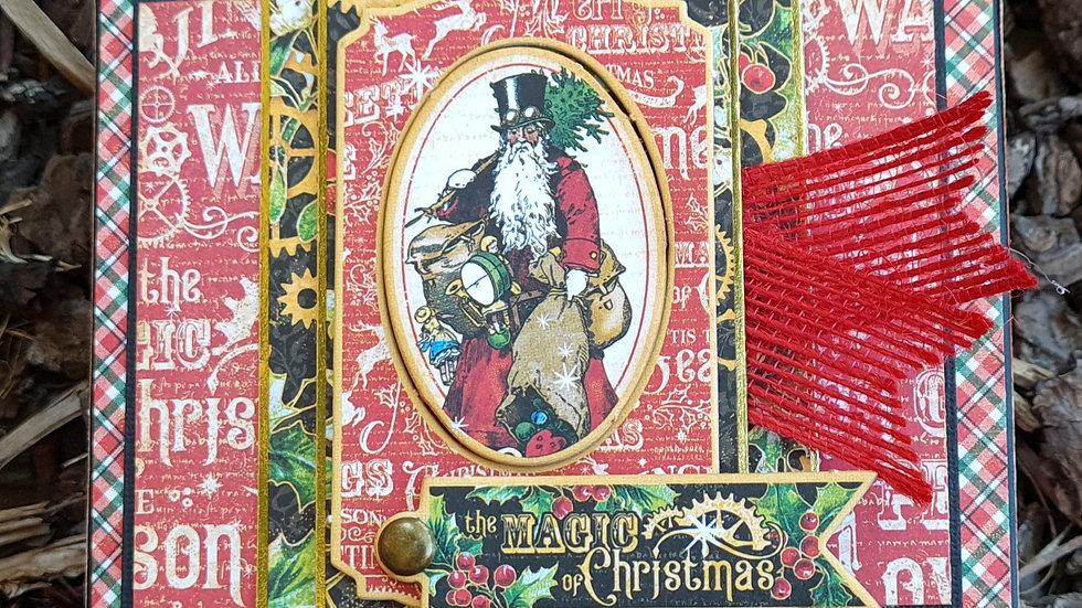 Mini Christmas Flip Album