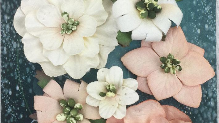 Green Tara Fantasy Blooms Antinque Pink