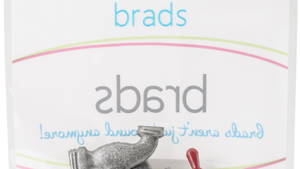 Pipe Set Brads 12  pieces
