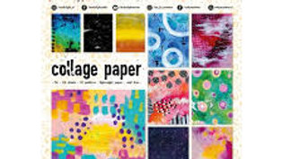 Art by Marlene Collage Paper  Artsy Arabia  Set 2